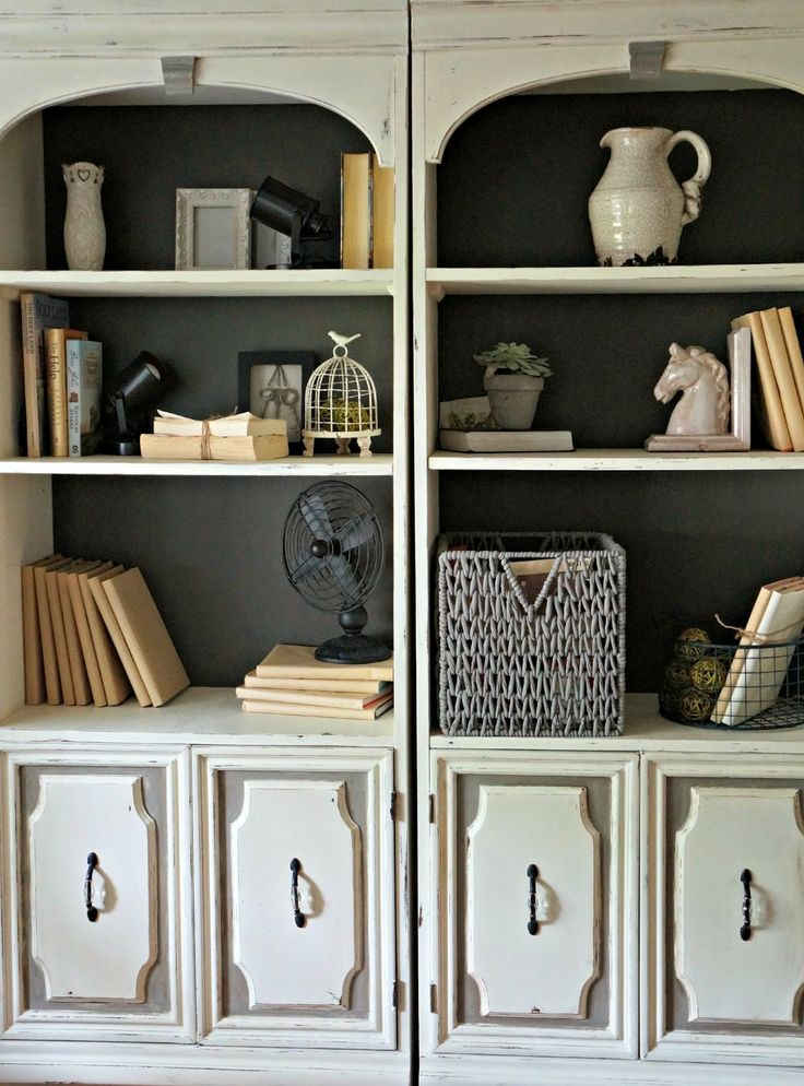 10 Ideas About Painted Bookcases On Pinterest Painting
