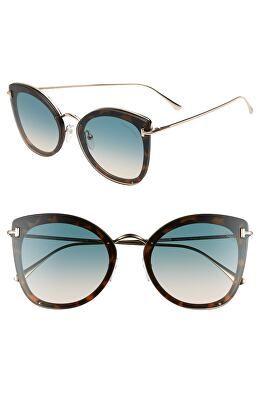 b7d889c1df38e TOM FORD Designer Charolette 62mm Oversize Butterfly Sunglasses ...