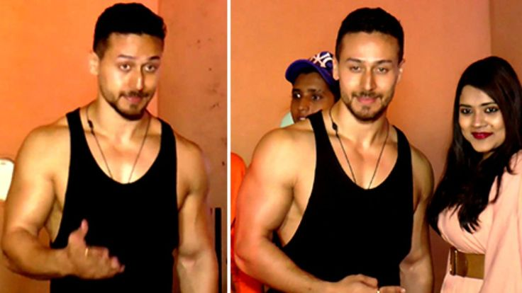 Tiger Shroff Flaunts Hot Body & Muscles In PUBLIC Outside a Gym | lodynt.com |لودي نت فيديو شير