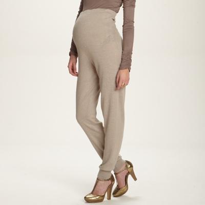 Pantalon maille large de grossesse femme MATERNITE