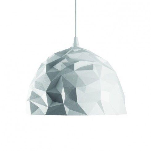 Foscarini hanglamp Rock wit polycarbonaat - Hanglampen - Verlichting