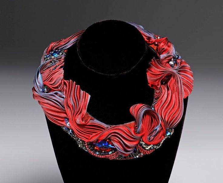 Laurie Danch Shibori Collar