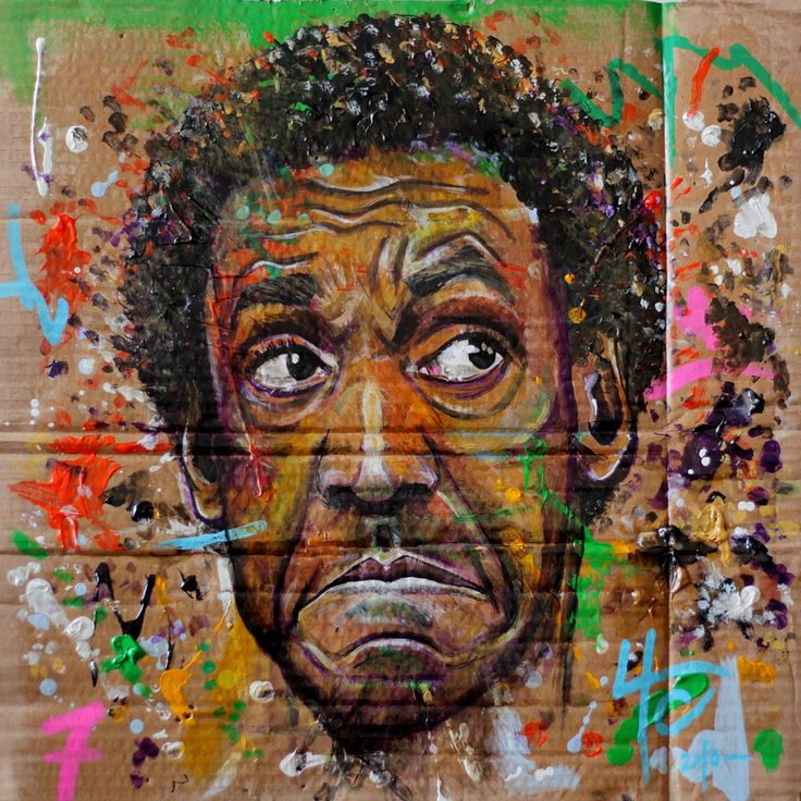 Yann Couedor Bill Cosby Painting