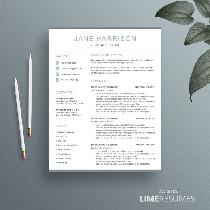 Affordable 2 page resume template 26 best