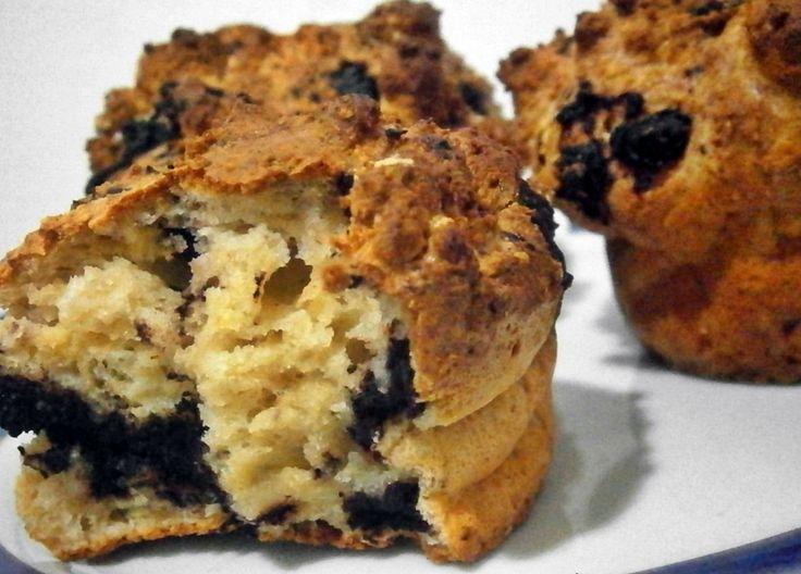 5 perces diétás muffin