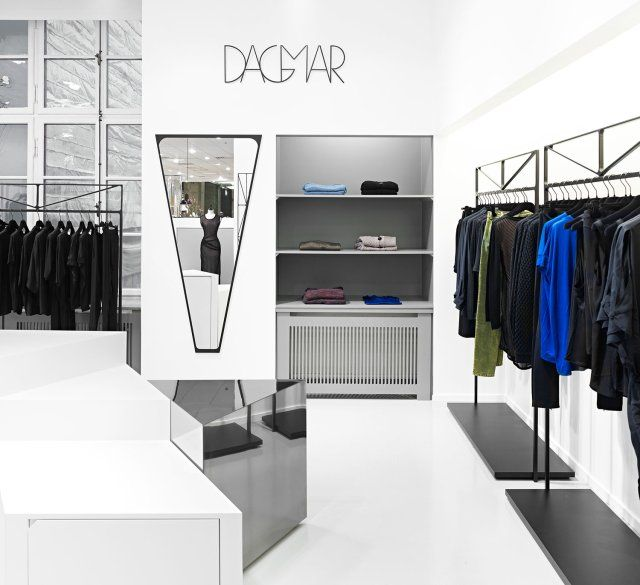 House of dagmar retail interior in stockholm by guise for Retail interior design firms