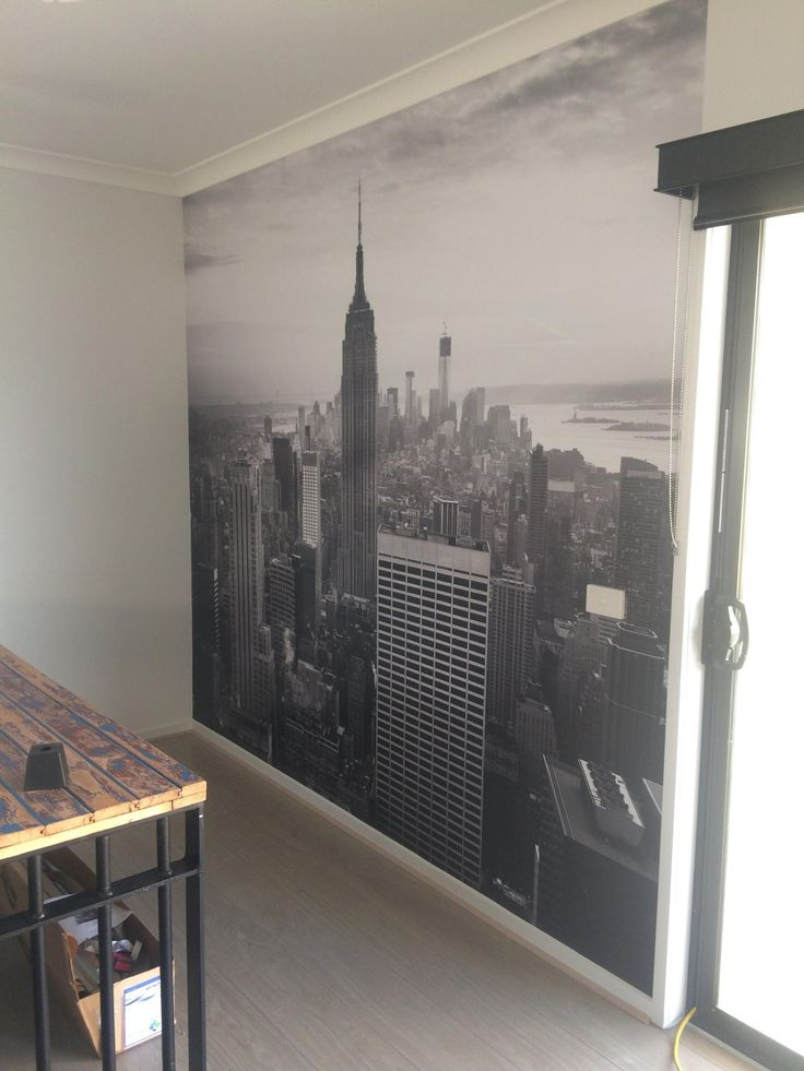 You simply can't beat a New York skyline wallpaper!