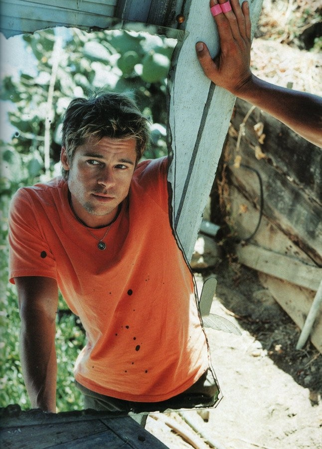 Brad Pitt - Me likey VERY much!!!