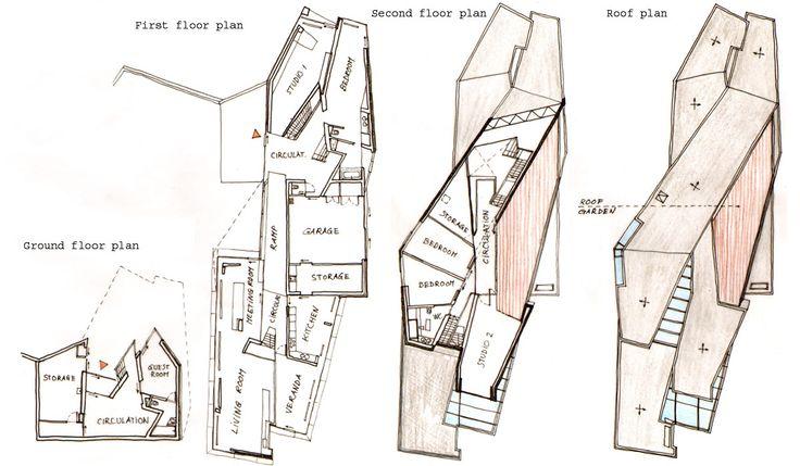 Un Studio; Môbius House, Netherlands, 1998