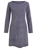 Collection WEEKEND by John Lewis 3/4 Sleeve Breton Stripe Dress, Navy