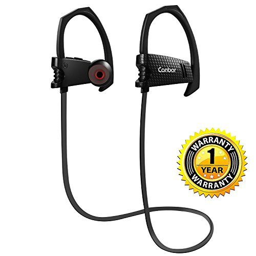 Bluetooth Headphones, Canbor Wireless Headphones Bluetooth Earbuds Sport Headset 4.1 with Mic, IPX5 Sweatproof Stereo Earphones  http://topcellulardeals.com/product/bluetooth-headphones-canbor-wireless-headphones-bluetooth-earbuds-sport-headset-4-1-with-mic-ipx5-sweatproof-stereo-earphones/  12 MONTHS WARRANTY: 12 months warranty and 30 days unlimited return or exchange. Worry free for money back guaranteed. Friendly customer service and prompt support for every customer IPX5