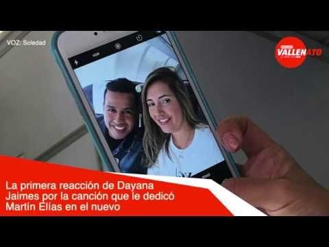 La primera reacción de Dayana Jaimes por la canción que le dedicó Martín Elías en el nuevo CD - VER VÍDEO -> http://quehubocolombia.com/la-primera-reaccion-de-dayana-jaimes-por-la-cancion-que-le-dedico-martin-elias-en-el-nuevo-cd    Visita:  y no te pierdas toda la actualidad del folclor vallenato Twitter: Facebook: Twitter: Instagram: SoundCloud: Google +:  Créditos de vídeo a YouTube channel