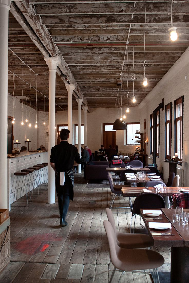 Timberyard restaurant in Edinburgh, Scotland.