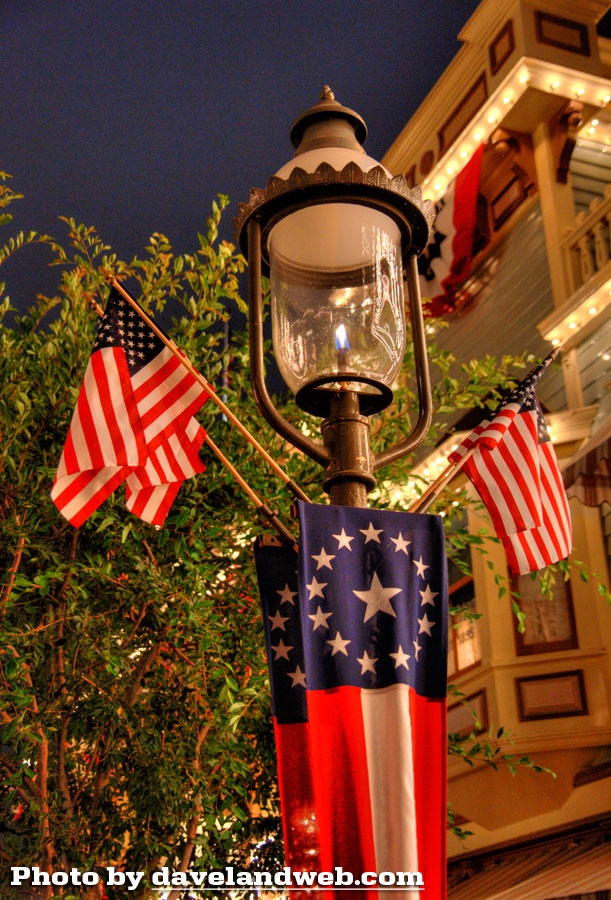 4th of july at disneyland