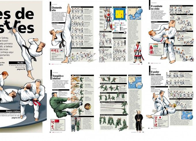 Special feature about martial arts events at the 2000 Olympics in Sidney