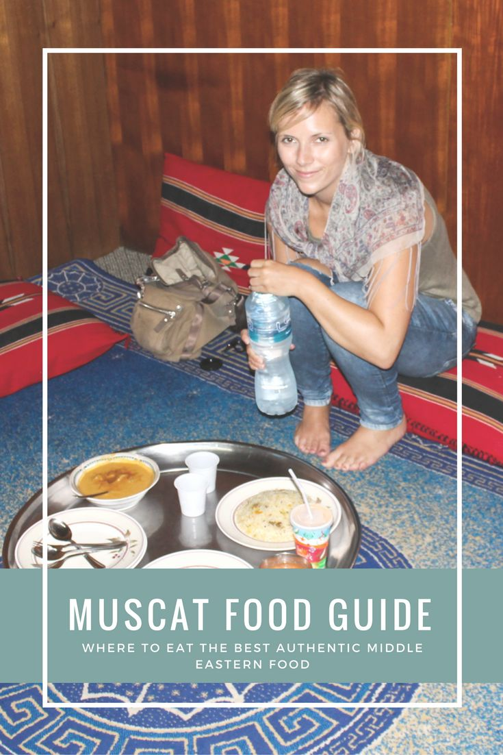 Eating like the locals is one of the top things you need to do during your stay in Muscat, Oman. This Muscat food guide lists the top restaurants and street food for an authentic Middle Eastern food experience (Lebanese, Omani, Turkish, Pakistani). Travel blog, travel tips.