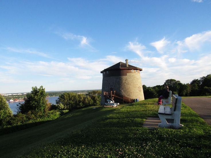 Tour Martello, plaines d'Abraham // Martello Tower, Plains of Abraham #quebecregion