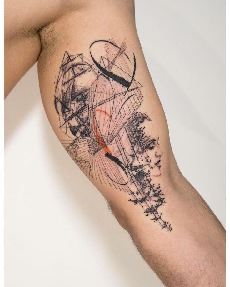 693 besten tattoo bilder auf pinterest for Avant garde tattoo