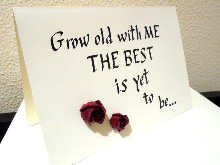 Tarjetas con rosas de origami y caligrafía para cumpleaños, felicitaciones, bodas, sant valentín de Florspaper en Etsy