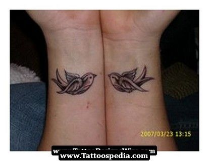 Swallow Tattoo ...like that they're small...for under my collarbones