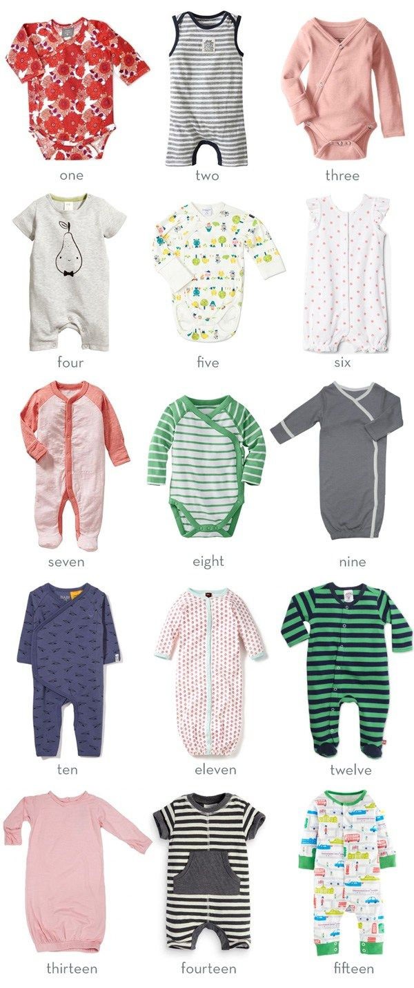 Favorite Newborn Clothing Brands
