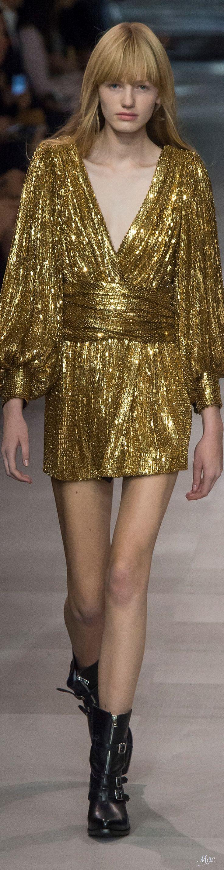 Spring 2019 RTW Celine Detalhes de moda, Moda, Vestidos