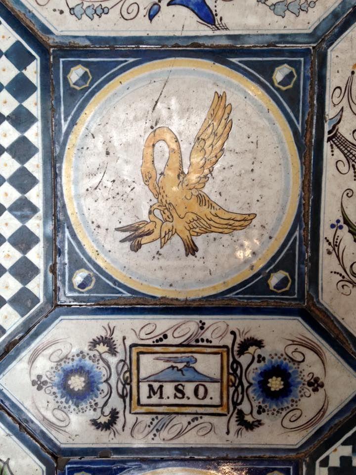 pavimento maiolicato. Museo Filangieri