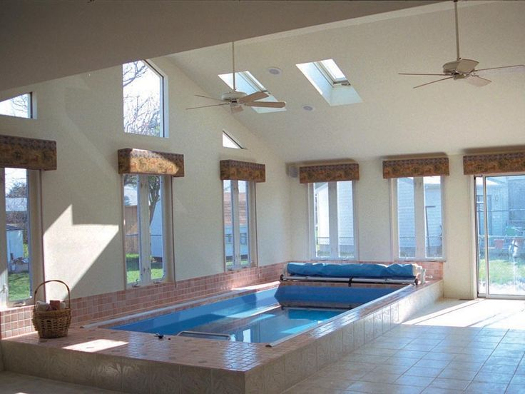 swim at home year round with an indoor endless pool. Interior Design Ideas. Home Design Ideas