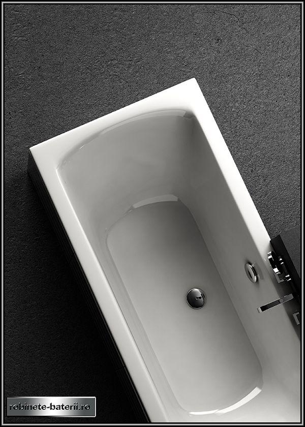 Cada baie dreptunghiulara Linea