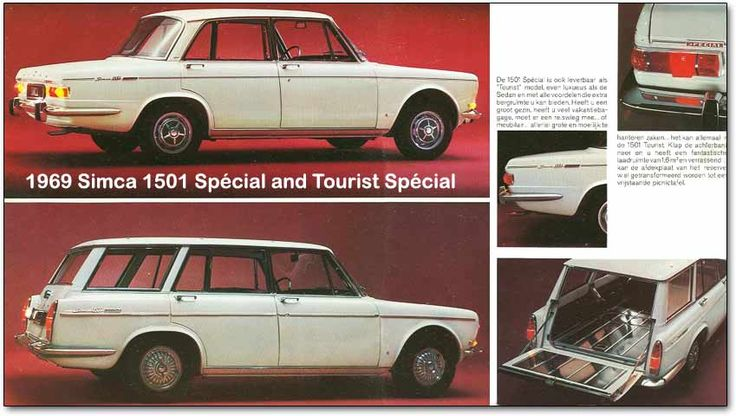 Back when I had the garage I used to find a bunch of Simcas in junk yards up and down Rt. 20 but I never found a station wagon to rebuild. I guess that means it is still on the bucket list. (This little ad is from 1969)