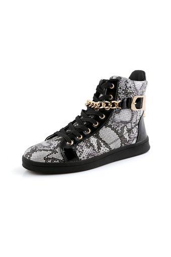 ESSAN Men Comfortable Sneakers High Cut Shoes (Black) | ราคา: ฿1,367.00 | Brand: ESSAN | See info: http://www.topsellershoes.com/product/6546/essan-men-comfortable-sneakers-high-cut-shoes-black