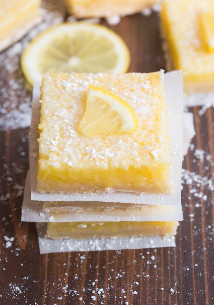 Perfect Lemon Bars via @betrfromscratch