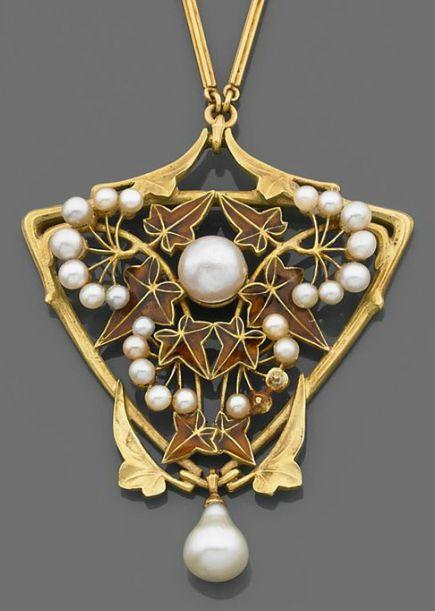 25 Best Jewelry Lucien Gaillard Images On Pinterest