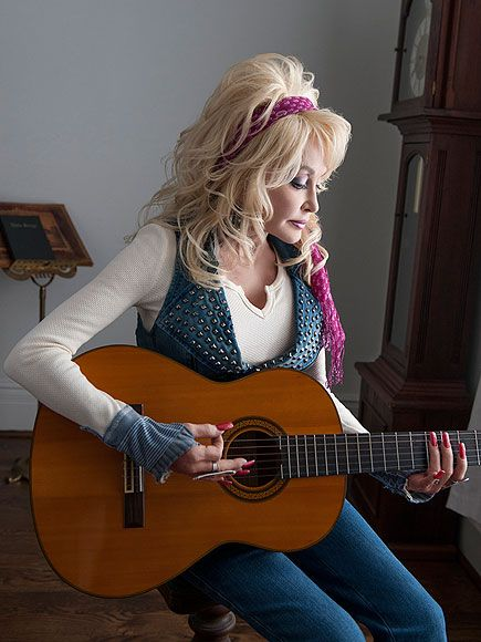 Dolly Parton Is Proud of Being 'White Trash' http://www.people.com/article/dolly-parton-plastic-surgery-southern-living