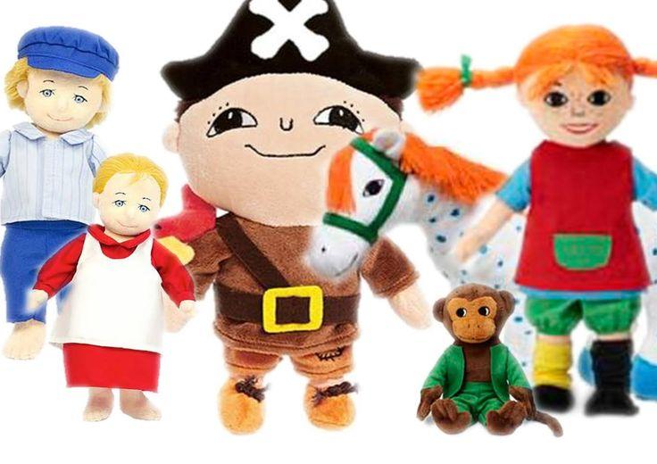"""""""En barndom utan böcker, det vore ingen barndom. Det vore att vara utestängd från det förtrollade landet, där man kan hämta den sällsammaste av all glädje."""" / Astrid Lindgren  Se vårt utbud av nostalgi i form av Alfons Åberg, Pippi Långstrump, Emil i Lönneberga m fl!  http://www.teddymania.se/"""
