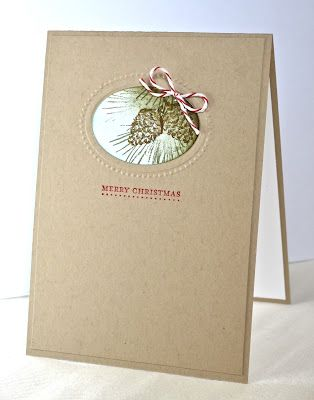Stampin' Up ideas and supplies from Vicky at Crafting Clare's Paper Moments: Framed Watercolour Winter