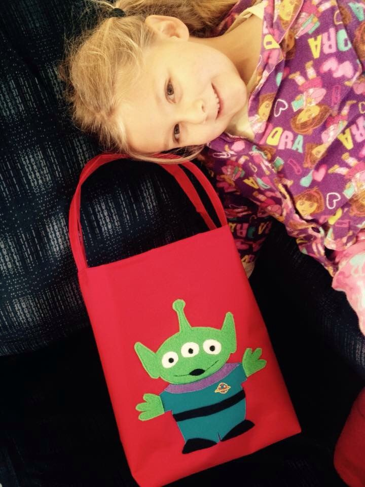 Toy Story alien bag