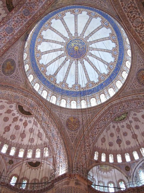 William Morris Fan Club: Blue Mosque tile fantasy