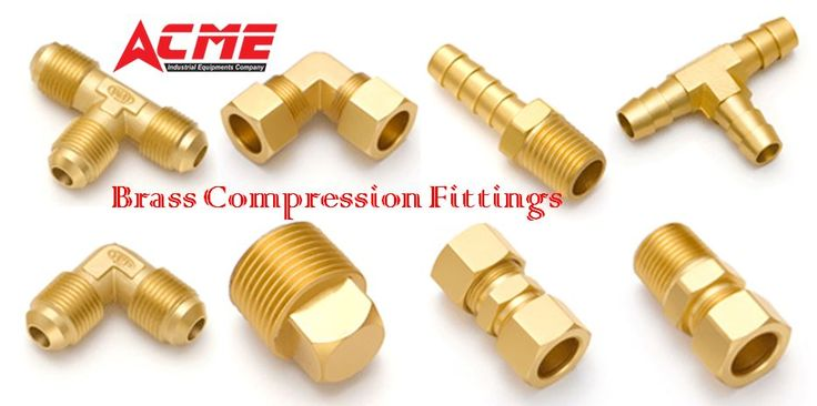 "ACME Industrial Equipment's brass compression fittings are compact and easy to assemble, provide excellent sealing qualities, and are suitable for use with various types of tubing.Brass compression fittings are available in both forged and extruded shapes ranging from 1/8"" to 1"" which are compatible with copper, brass and iron tubing. For more Info visit @https://goo.gl/mTWt5U   #brasscompressionfittings #compressionfittings #tubefittings #fittingssuppliersinhyderabad…"