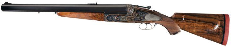 Holland and Holland 4 gauge elephant gun.