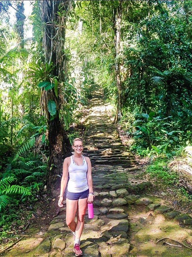 trail into the lost city trek