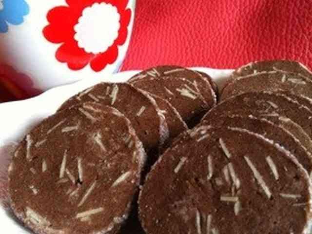アイスボックスクッキー♡アーモンドココアの画像