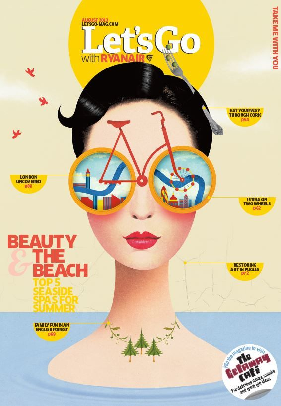 Beauty & the Beach, check it out in this month's Let's Go with Ryanair magazine