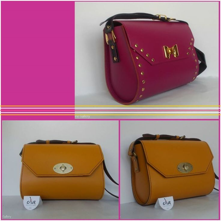 Genti din piele Dia Handmade #leather #bags #handmade