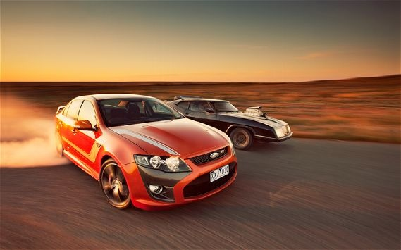 2011 Ford Falcon FPV Boss 335 GT -  Those Australians get some cool Fords.