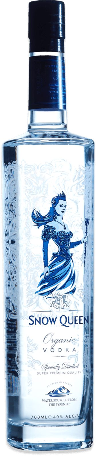 Snow Queen Vodka – Vodka Bottle