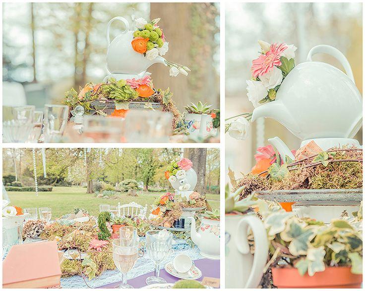 Alice aux pays des merveilles mariages - Alice in wonderland wedding11
