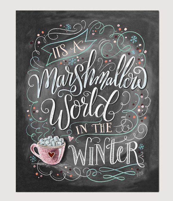 Marshmallow World -  Print