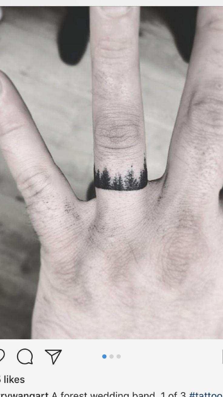 Kein Ehering, sondern um den rechten Ringfinger …