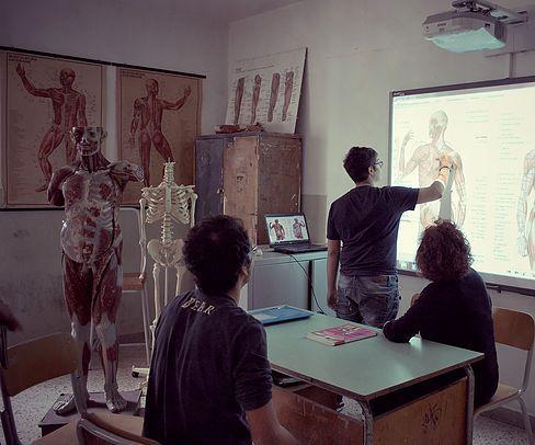 Aula di figurazione, anatomia e foto-video